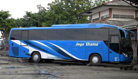 Tarif harga tiket Bus Jaya Utama